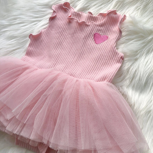 I LOVE, LOVE Baby 2 Piece Dress Set