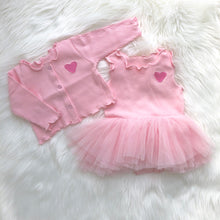 Load image into Gallery viewer, I LOVE, LOVE Baby 2 Piece Dress Set