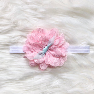 Dusty Pink Flower Hairband