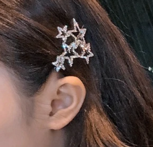GLITTERING STAR LUXE HAIR PIN