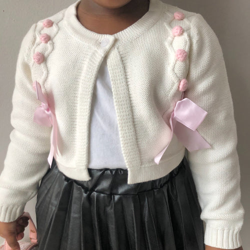 Princess Bow Cardigan