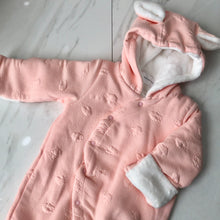 Load image into Gallery viewer, Luxy Bunny Baby Footed Outerwear