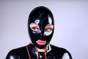 Latex Single Colour Hood