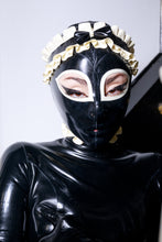 Load image into Gallery viewer, 'Chloe' Latex Maid Hood