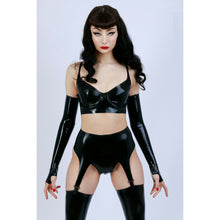 Load image into Gallery viewer, Latex Suspender Belt