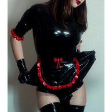 Load image into Gallery viewer, 'Chloe' Latex Maid Dress