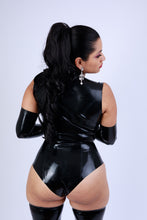 Load image into Gallery viewer, O Ring Latex Playsuit
