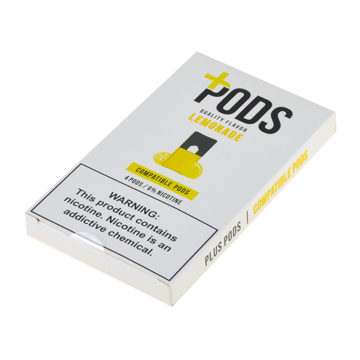 Plus Pods Lemonade 4ct