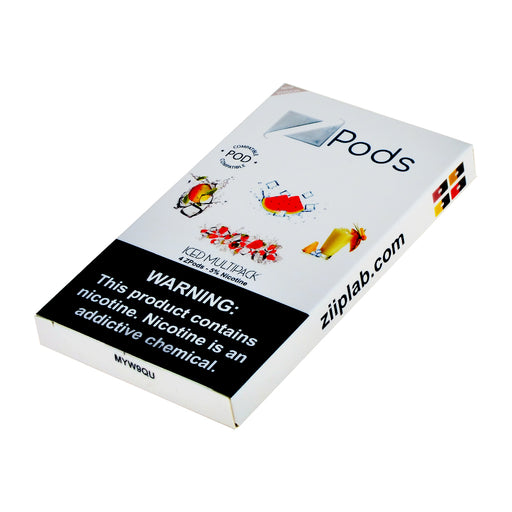Ziip Pods Iced Multipack 4ct