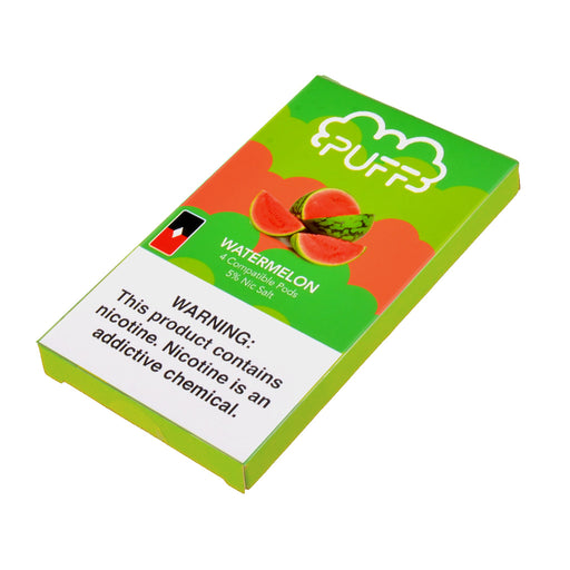 Puff Pods Watermelon 4ct