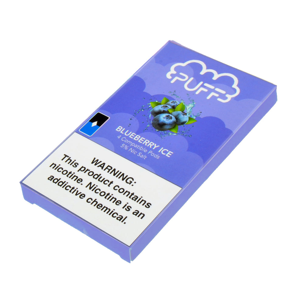 Puff Pods Blueberry Ice 4ct