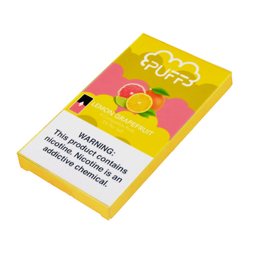 Puff Pods Lemon Grapefruit 4ct