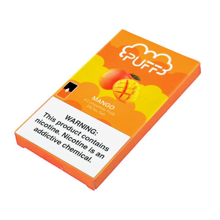 Puff Pods Mango 4ct
