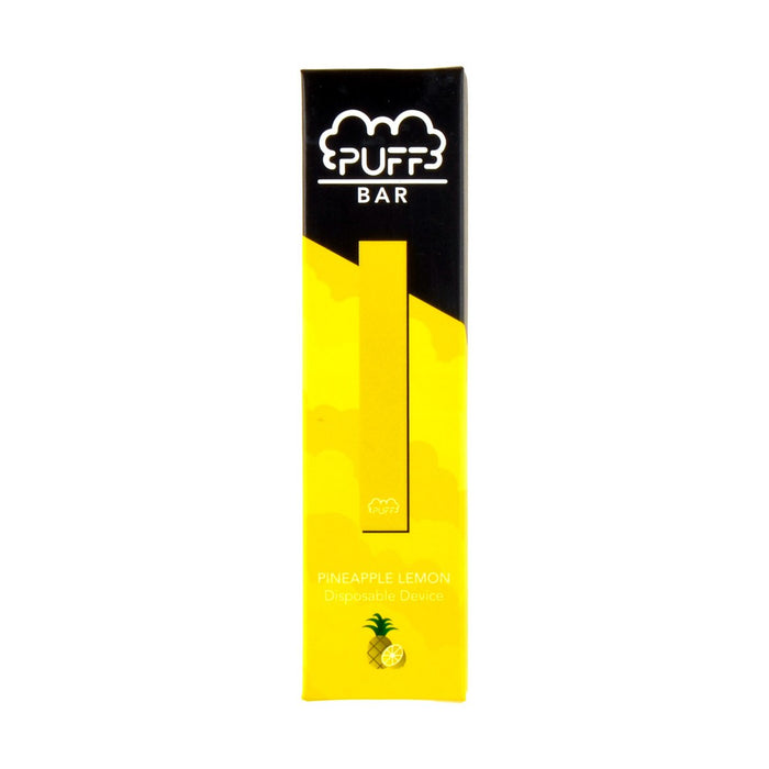 Puff Bar Disposable Pod Device Pineapple Lemon