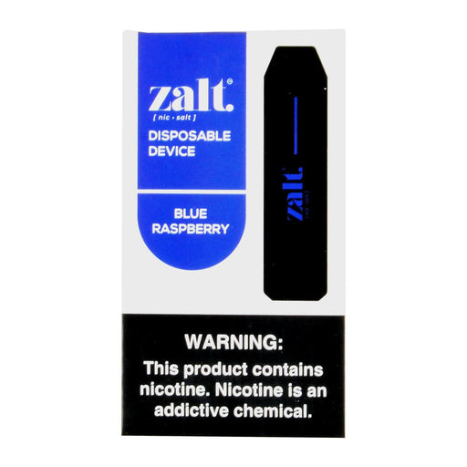Zalt Blue Raspberry Disposable Pod Devices