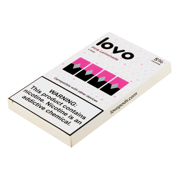 Lovo Pods Pink Lemonade Compatible Pods