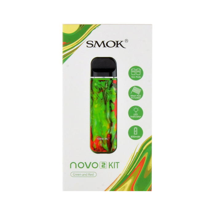 Smok Novo 2 Kit Green and Red