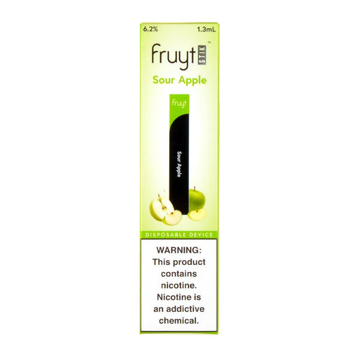 Fruyt Stik Disposable Pen Sour Apple
