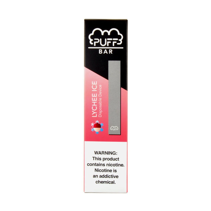 Puff Bar Disposable Pod Device Lychee Ice