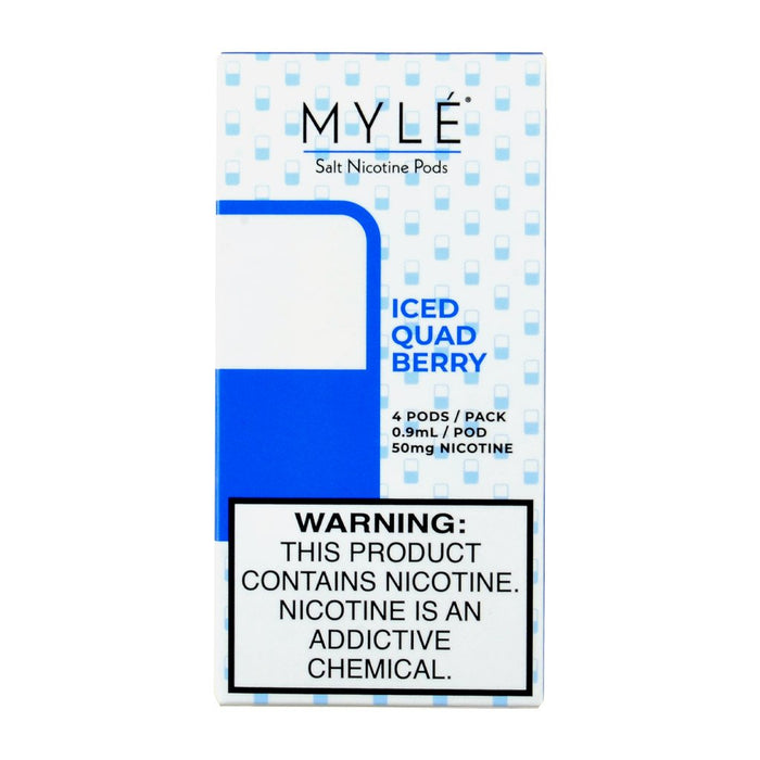 Myle Iced Quad Berry 4 Pods