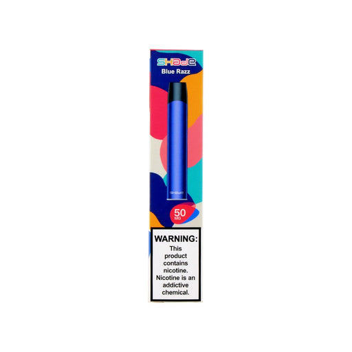 Shade Disposable Pen Blue Razz