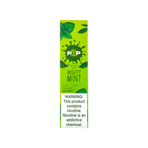POP Mighty Mint Disposable Vape Device