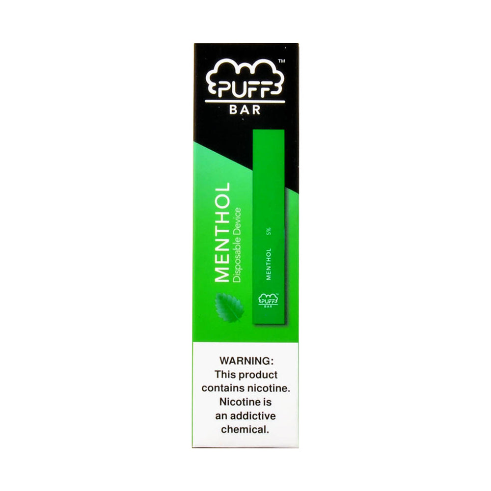 Puff Bar Disposable Pod Device Menthol