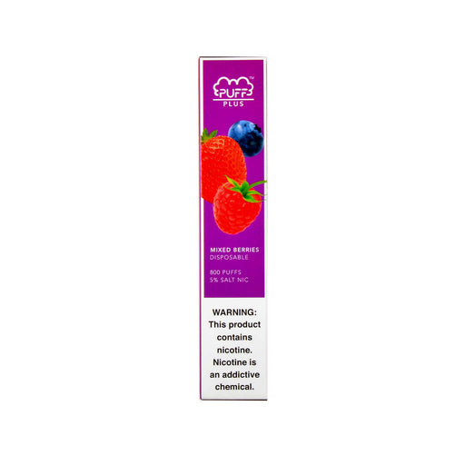 Puff Plus Disposable Device Mixed Berries