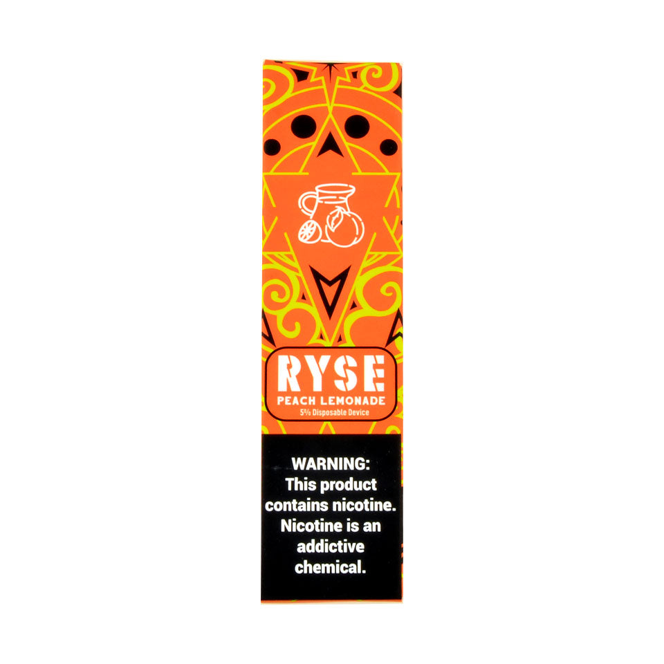 Ryse Disposable Device Peach Lemon