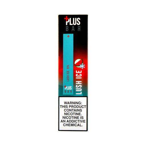 Plus Bar Disposable Device Lush Ice