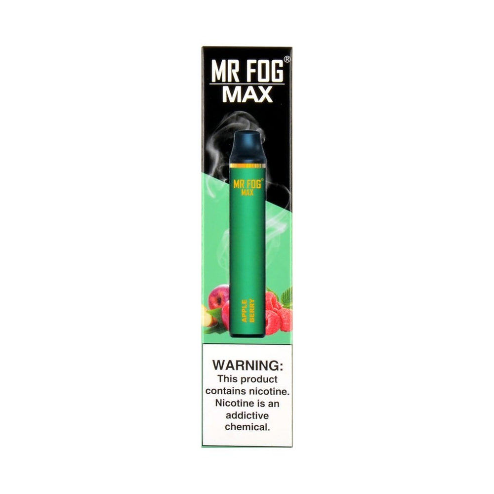 Mr Fog Max Disposable Device Apple Berry