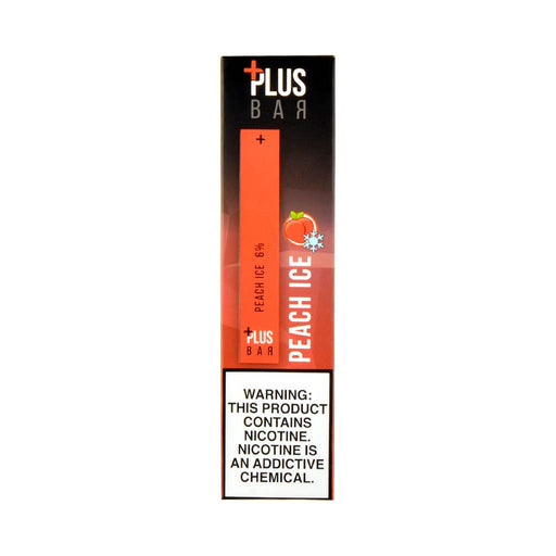 Plus Bar Disposable Device Peach Ice
