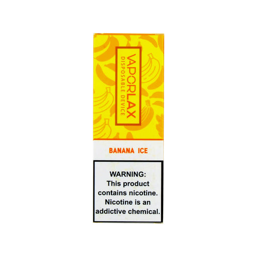 VaporLax Max Disposable Vape Banana Ice