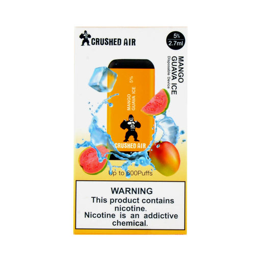 Crushed Air Disposable Vape Mango Guava Ice