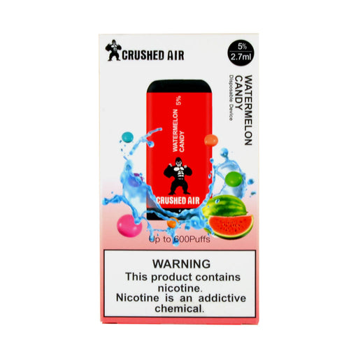 Crushed Air Disposable Vape Watermelon Candy