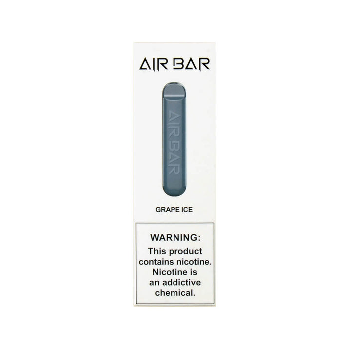Air Bar Disposable Device Grape Ice