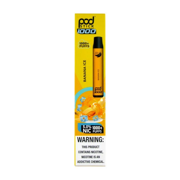 PodStick Max Disposable Vape Device Banana Ice