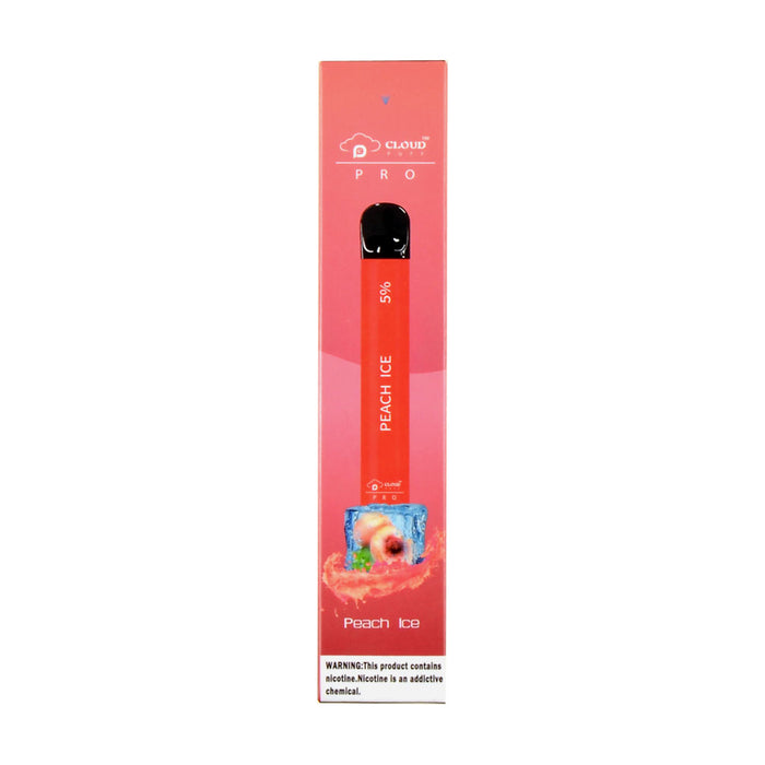 Cloud Puff Pro Disposable Device Peach Ice