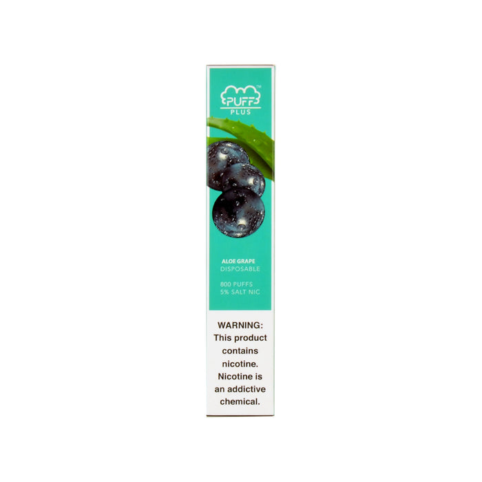 Puff Bar Plus Disposable Device Aloe Grape