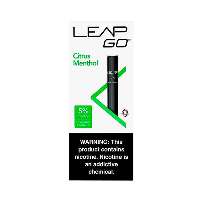 Leap Go Disposable Citrus Menthol