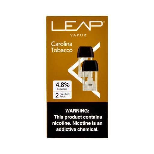 Leap Vapor Carolina Tobacco 2 Pods
