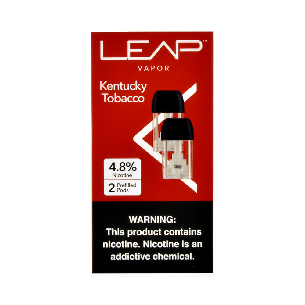 Leap Vapor Kentucky Tobacco 2 Pods