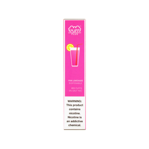 Puff Bar Plus Disposable Device Pink Lemonade