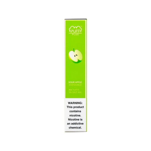 Puff Bar Plus Disposable Device Sour Apple