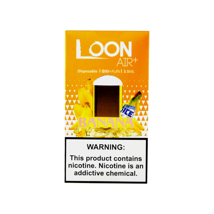 Loon Air Plus Disposable Device Banana Ice