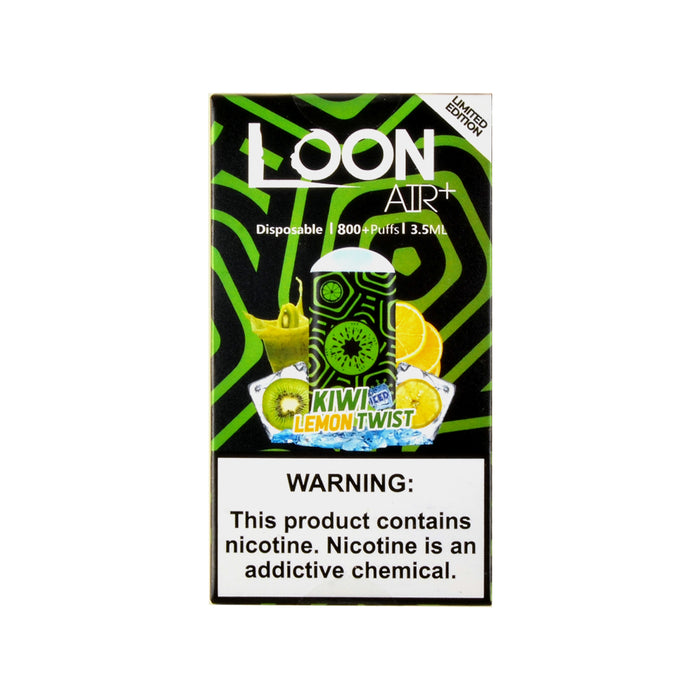 Loon Air Plus Disposable Device Kiwi Lemon Twist