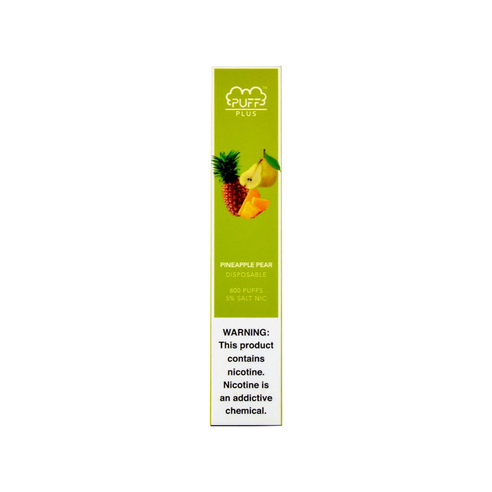 Puff Bar Plus Disposable Device Pineapple Pear