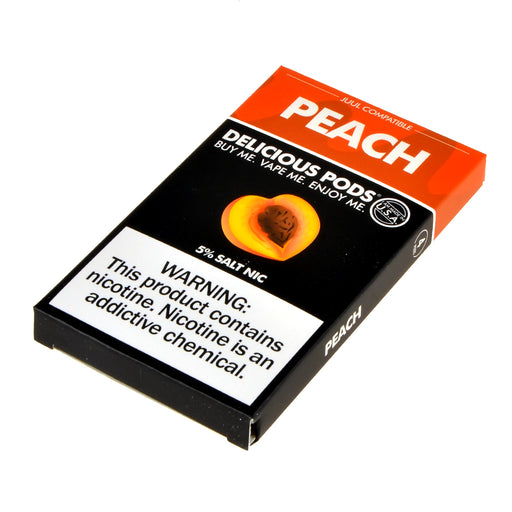 Delicious Pods Peach 4ct