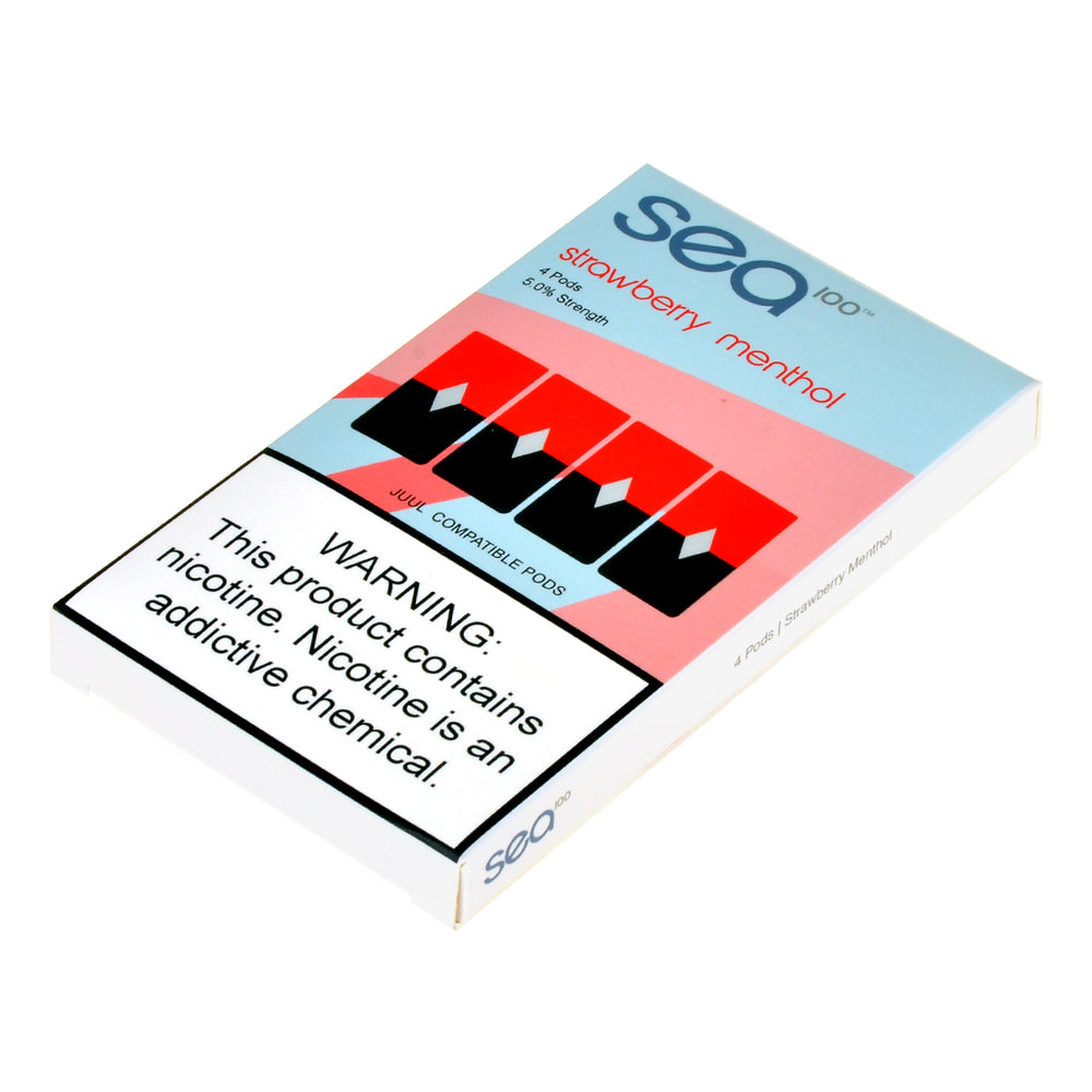 Sea Pods Raspberry Menthol 4ct