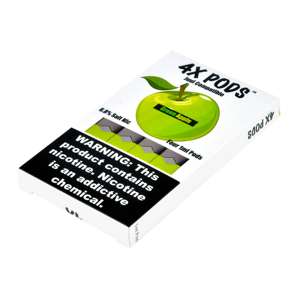 4X Pods Green Apple 4ct